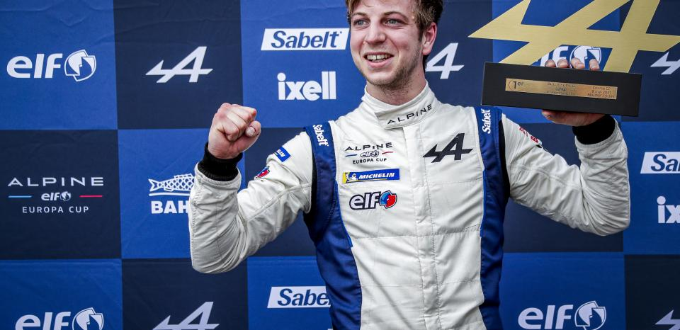 Mela dominates at magny-cours - Alpine ELF Europa cup