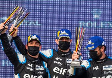 Alpine takes second place at Spa-Francorchamps 6 Hours