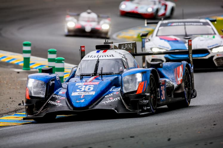 Signatech Alpine Matmut team has won the LMP2 category of the 24 Hours of Le Mans
