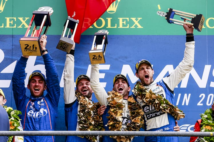 Victory at Le Mans and the LMP2 world title!
