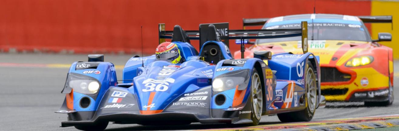 Alpine racing car