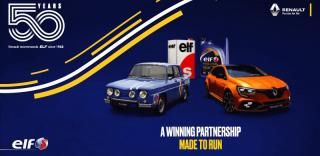 RENAULT x ELF 50 years